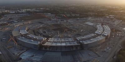 A che punto è il cantiere dell'Apple Campus 2