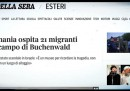 La Germania non ha ospitato migranti a Buchenwald