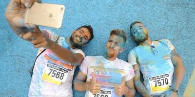Le foto della Color Run all'autodromo di Monza