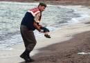 La foto del bambino siriano morto in Turchia