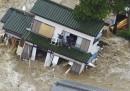 Le foto delle alluvioni in Giappone
