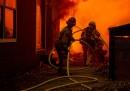 Le foto degli incendi in California