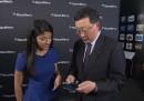 La maldestra dimostrazione del nuovo BlackBerry fatta dal CEO di BlackBerry