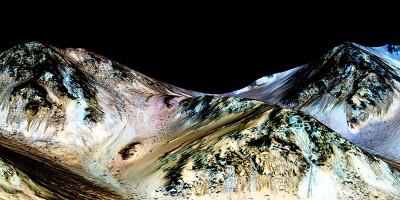 Quindi c'è acqua su Marte, e probabilmente è salata