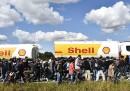I migranti che vanno in Svezia a piedi