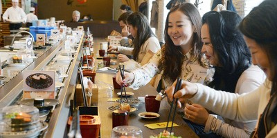 La crisi dei nastri trasportatori di sushi