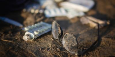 Gli oggetti abbandonati dai migranti