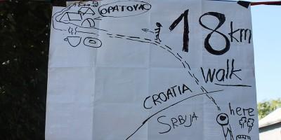La strada per Opatovac, Croazia