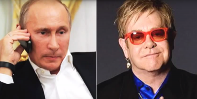 Putin non ha mai chiamato Elton John: era uno scherzo telefonico