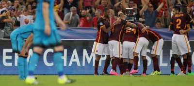 Roma-Barcellona 1-1