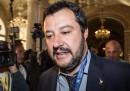Matteo Renzi è «un verme», ha detto Salvini