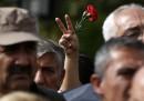I funerali dei morti di Ankara