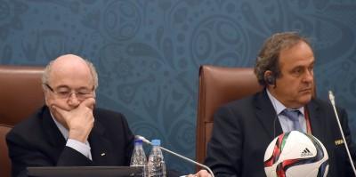 Blatter e Platini sono stati sospesi dalla FIFA