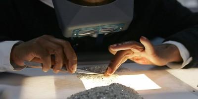 I diamanti artificiali di De Beers