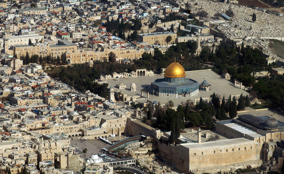 MIDEAST-JERUSALEM-POSTCARD