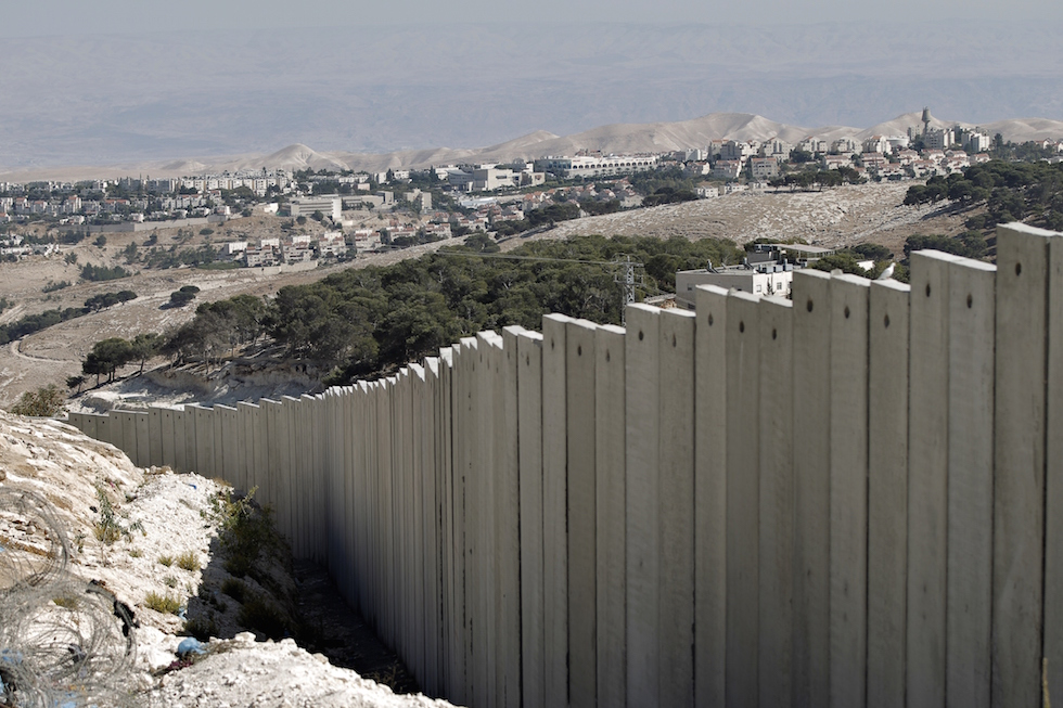 ISRAEL-PALESTINIAN-CONFLICT-BARRIER