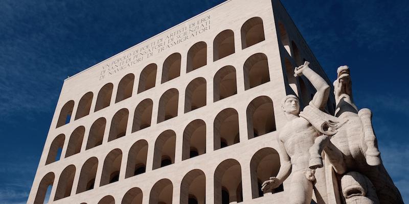 La nuova sede di fendi nel colosseo quadrato il post for Palazzo della civilta italiana fendi
