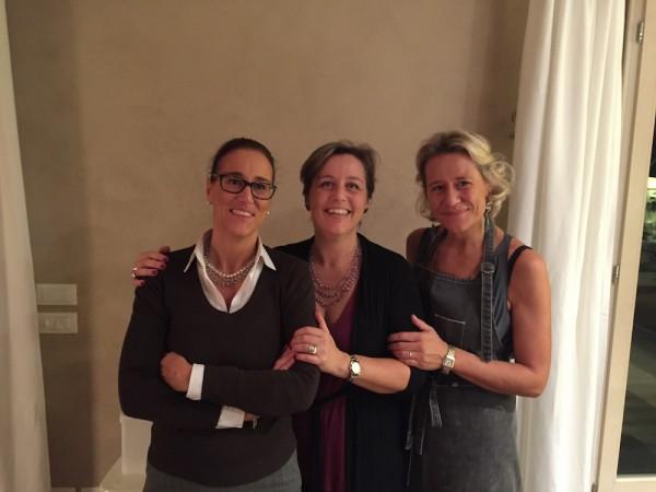 Lavinia, Veronica e Lorenza Manfrotto