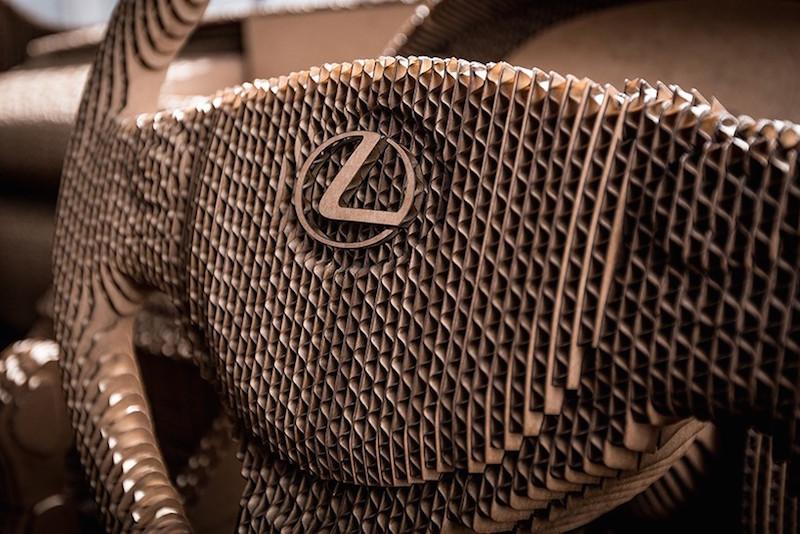 abbastanza Le foto dell'auto di cartone fatta da Lexus - Il Post XD25