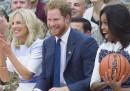 """Il principe Harry e Michelle Obama ai """"Giochi dei veterani"""""""