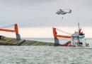 Le foto dell'incidente navale in Belgio
