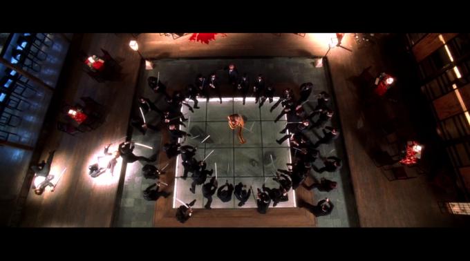 Tarantino da sopra