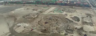 Il video che mostra il sito dell'esplosione a Tanjin due mesi dopo