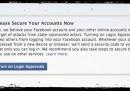 Adesso Facebook vi avvertità se il governo tenta di spiare il vostro account