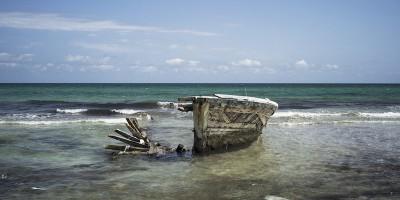 Non ci sono più barche di fronte a Zuwara