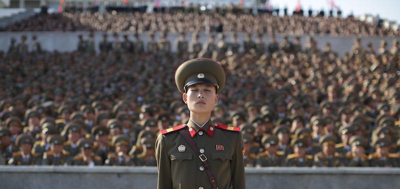Aerei Da Caccia Corea Del Nord : Le foto della grande parata militare in corea del nord