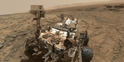 Il nuovo selfie di Curiosity su Marte