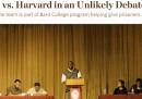 La storia dei detenuti che hanno battuto la squadra di dibattito di Harvard