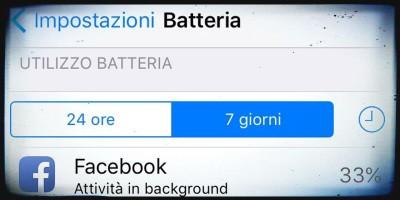 L'app di Facebook consuma molta più batteria di quanto dice