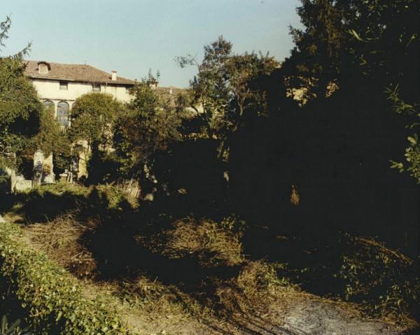 Il giardino prima del restauro