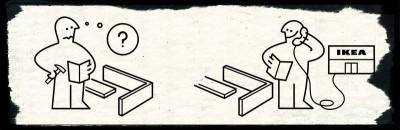 Come sono fatte le istruzioni IKEA