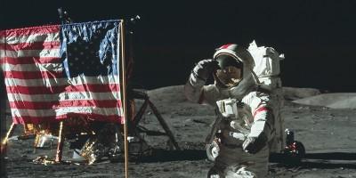 La Luna fotografata dagli astronauti della NASA