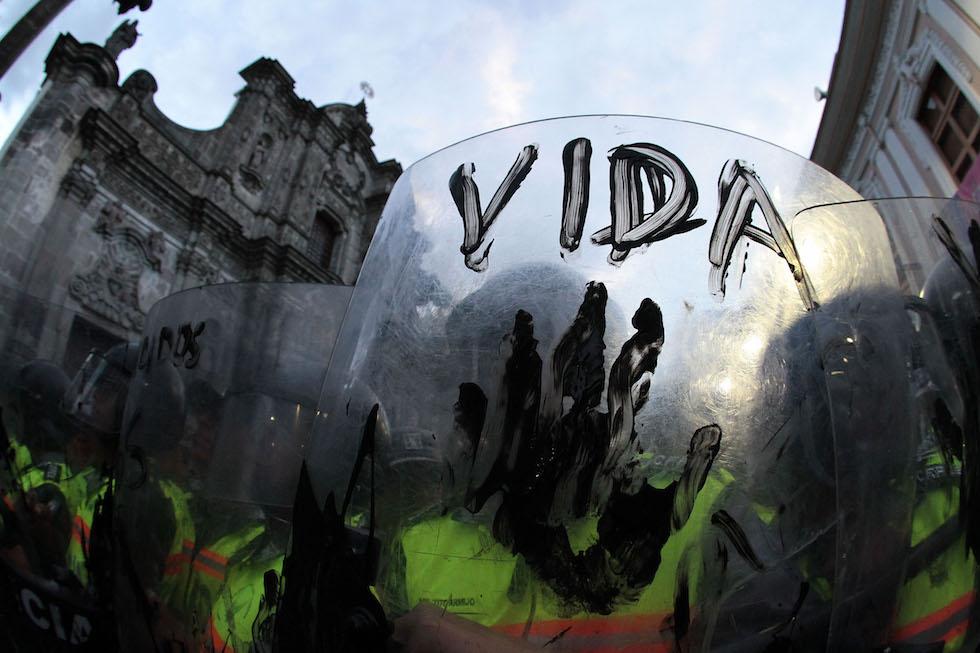 ECUADOR-ENVIRONMENT-OIL-YASUNI-PROTEST