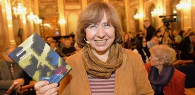 Svetlana Aleksievič e i suoi testimoni