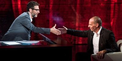 """Il compenso di Varoufakis a """"Che tempo che fa"""""""