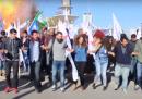 Il video che mostra la prima esplosione dell'attentato ad Ankara