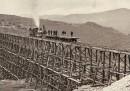 La costruzione di una grande ferrovia americana nel 1800