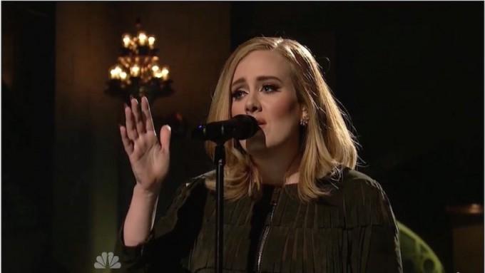 La traccia vocale dell'esibizione di Adele al SNL