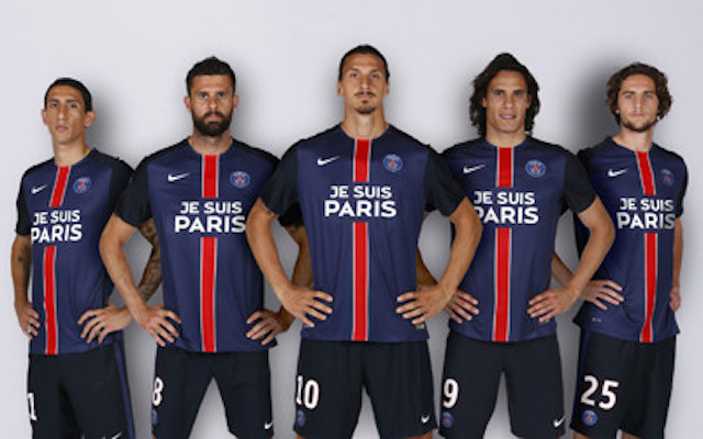 Maglia Paris Saint-Germain ufficiale