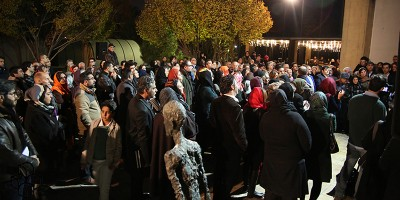 La mostra d'arte a Teheran di cui parlano tutti