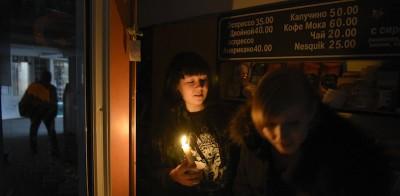 L'enorme blackout in Crimea