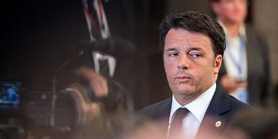 Matteo Renzi sul ponte sullo Stretto di Messina, «che si farà»
