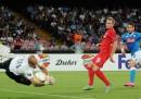 Club Brugge-Napoli è finita 0-1