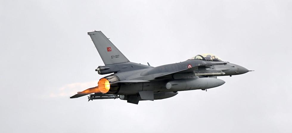 F-16 Turchia