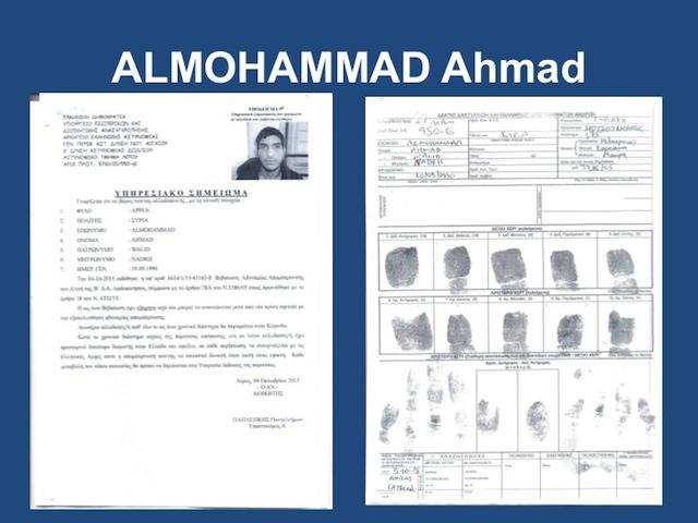 Passaporto siriano