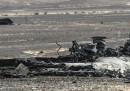 L'aereo precipitato nel Sinai è stato abbattuto da una bomba, dice la Russia